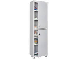 Шкаф медицинский MD 1 1650/SS металлический