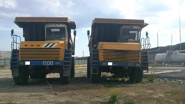 Продаются автосамосвалы БелАЗ 7547 (BELAZ 7547) в количестве 4 штуки.
