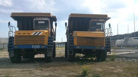 Автосамосвалы карьерные Белаз 7547 - 11 штук.