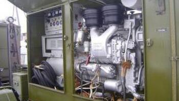 Электростанция (дизель-генератор) АД-30Т/400 с хранения