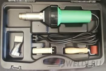 Строительный фен MELTPLAST 1600 для сварки внахлёст
