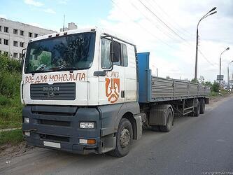 Аренда длинномера и манипулятора 6 - 13,6 метров в Нижнем Новгороде.