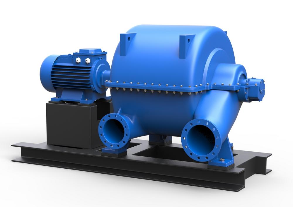 Турбокомпрессоры газовые (турбогазодувка, газодувка) ТГ и воздушные (турбовоздуходувка, воздуходувка) ТВ многоступенчатые