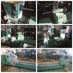 Этапы производства и сборки специального бандажировочного станка мод. РТ5004 для РЖД