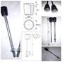 Ручка с наконечником (капля) М6, М8, М10 (пластик) для промышленного оборудования и станков- промышленная фурнитура