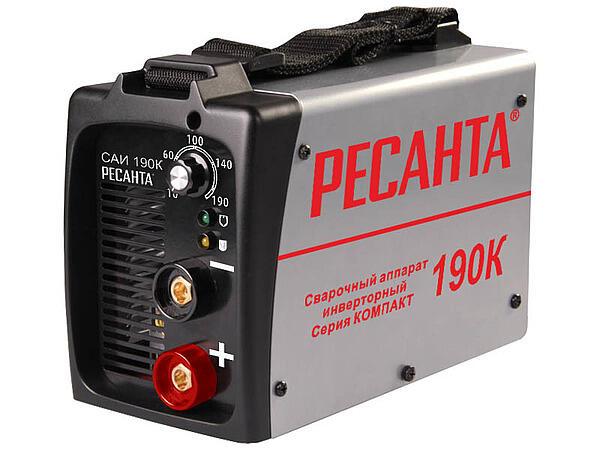 Сварочный аппарат инверторный Ресанта САИ-190 Компакт