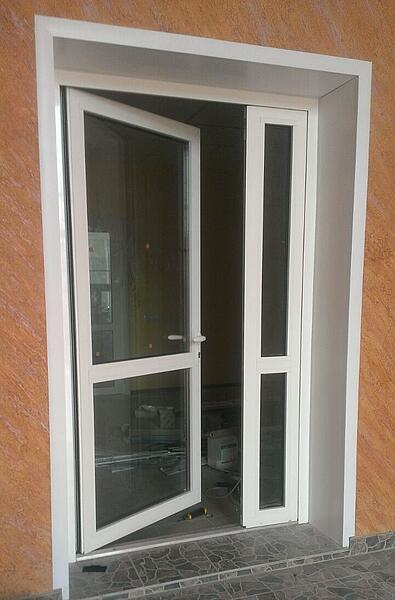 Противопожарные Алюминиевые двери EIW60