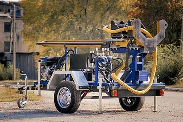 Малогабаритные буровые установки на воду с гидроприводом TS-15