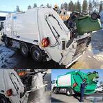 Система мойки мусорных контейнеров высокого давления JPL DYNASET