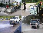 Агрегат для мойки улиц KPL DYNASET (с водяным резервуаром)