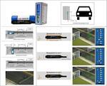 Магниторезистивный датчик автотранспорта для ворот, шлагбаумов не требующий магнитной петли