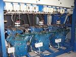 Много компрессорная холодильная установка б/у 9000м3 +35 до -35