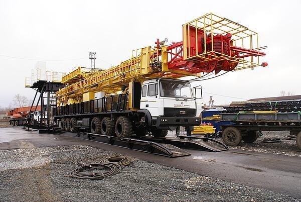 мобильная буровая установка МБУ-160 на нефть и газ