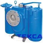Трубопроводный сетчатый фильтр - стрейнер серии Duplex - модель 53BTX