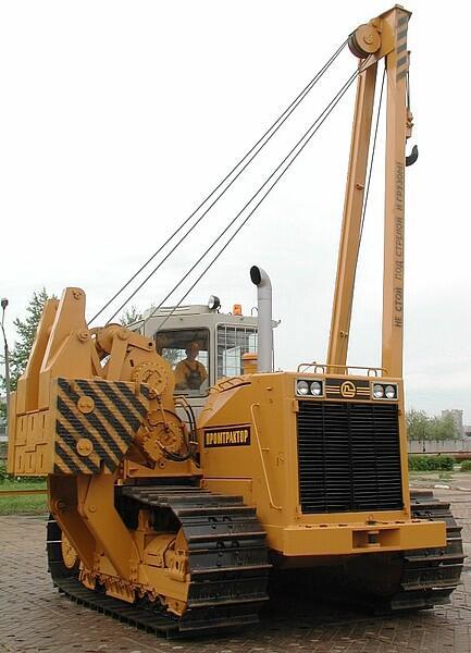 Гусеничный трубоукладчик ЧЕТРА ТГ-503