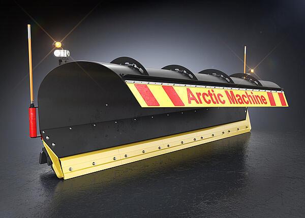 Скоростной передний поворотный снегоуборочный отвал AM серии