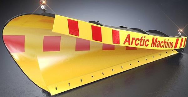 Скоростной передний поворотный диагональный снегоуборочный отвал серии