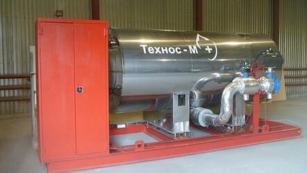 Изотермические модули пожаротушения низкого давления жидкой углекислоты МПИ «АТАКА-М»