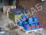 НВМ70/75 насосы вакуумные - оборудование для молочных ферм