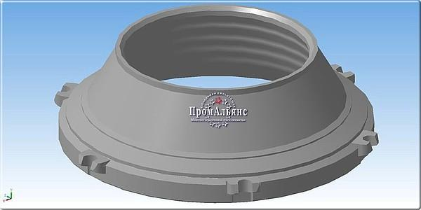 Комплект конусов дробящих СМД-119