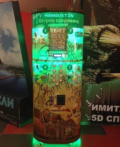 Вендинговый автомат с местом Mangustin Остров сокровищ