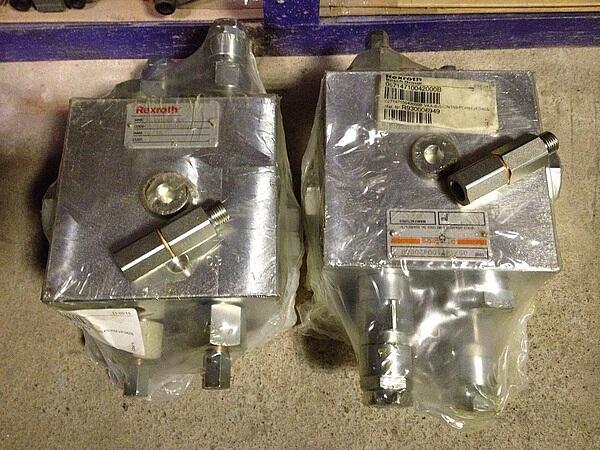 Блок клапанов Rexroth R930006949 (VAA-B-SICN 150PDRM) code 05714710042000В