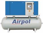 Винтовые компрессоры Airpol KT 3-15 с осушителем и фильтрами сжатого воздуха – на ресивере