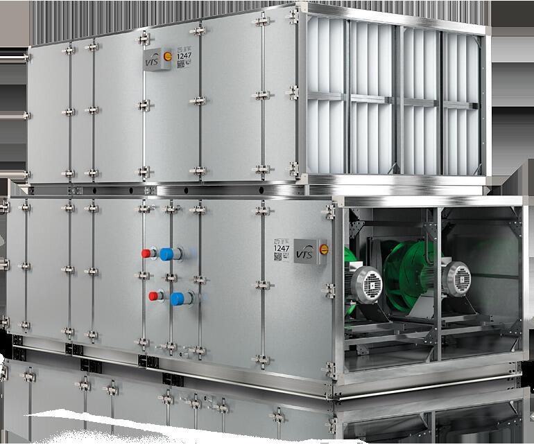 Агрегаты для вентиляции и кондиционирования воздуха широкого применения