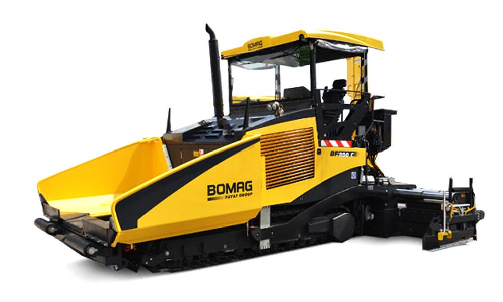 Асфальтоукладчик Bomag BF 800 С S 500