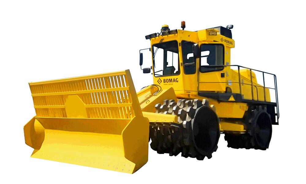 Уплотнитель мусора BC 772 RS-2