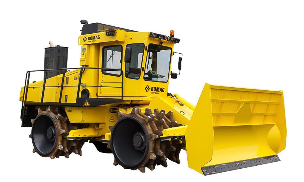 Уплотнитель мусора BC 972 RB-2