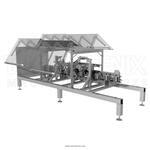 Автомат для формирования пакета типа «брикет»