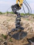 Земляной гидравлический грейфер DCS1