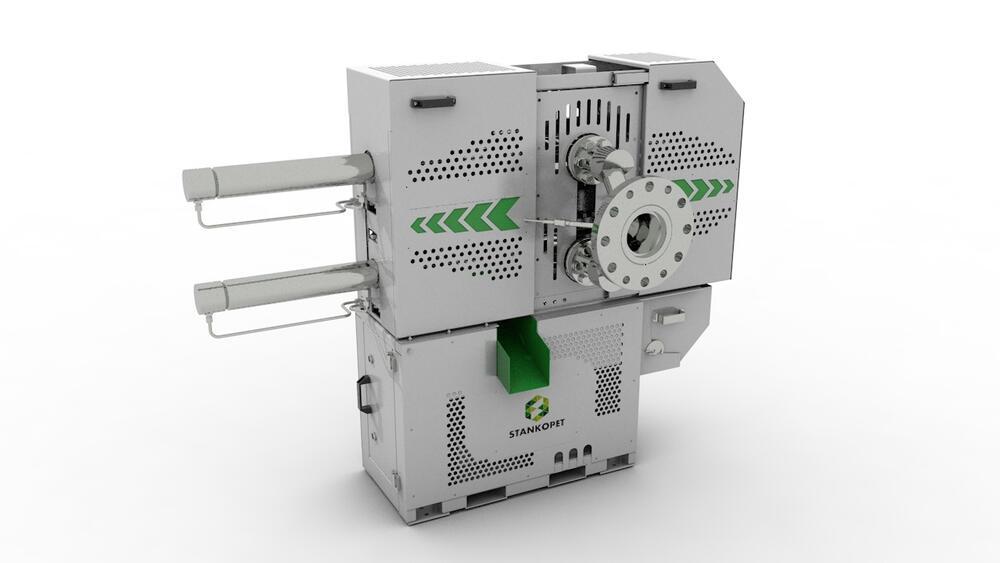 Двухканальный фильтр расплава НФ-500
