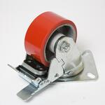 Колесо большегрузное полиуретановый обод поворотное SCPB 160