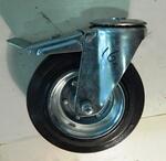 Колесо промышленное под болт с тормозом SCHB 200