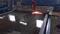 Станок плазменной резки с водяным столом