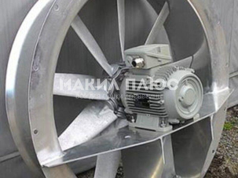 Осевой реверсивный вентилятор