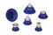 Сильфонные вакуумные присоски круглой формы  Bellows Suction Cups SAB (1.5 Folds)