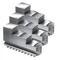 Комплект прямых сырых кулачков для патрона 250 мм