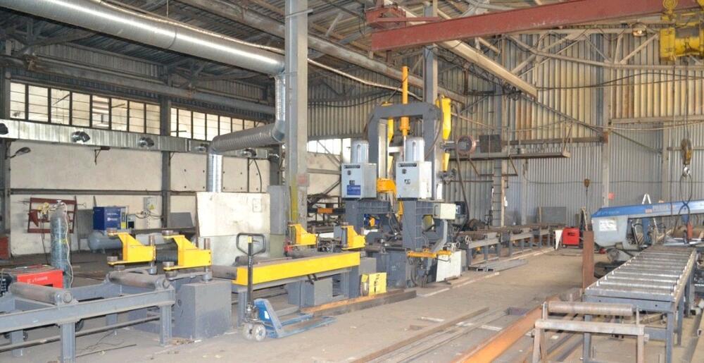 Стан для изготовления двутавровых и тавровых балок б/у 800 часов, в комплектном, исправном состоянии