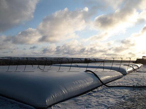 Нефтегазовое оборудование – резервуар для хранения горючего.
