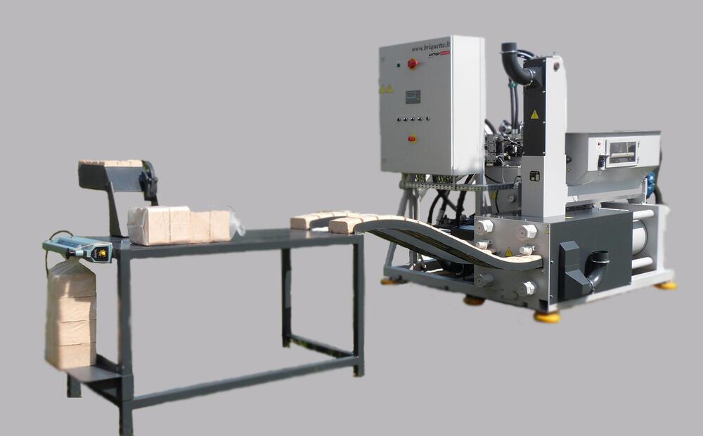 Гидравлический пресс UMP BP-500A для брикетирования