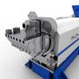 Экструдер SLE K-125 (нижний каскадный) для переработки пластика