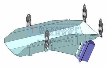 Питатель вибрационный с электромагнитным приводом ПЭ 7х18