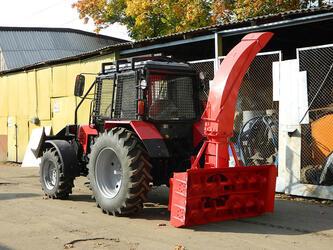 Снегоочиститель шнекороторный для трактора МТЗ 82 на заднюю навеску