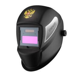 "Маска сварщика ""Хамелеон"" DEKO DKM BLACK с автоматическим светофильтром 051-4679"