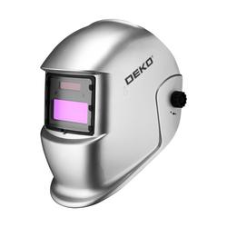 """Маска сварщика """"Хамелеон"""" DEKO DKM SILVER с автоматическим светофильтром 051-4680"""