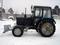 Отвал поворотный снеговой для трактора МТЗ, ширина 2800 мм, высота 1000 мм