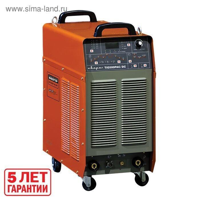 Инвертор сварочный quot;СВАРОГquot; TIG 500 P AC/DC J1210, 20 кВт, 500А, 380В